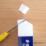 image of eraser and cutter
