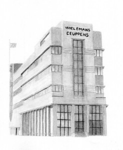 drawing of the wielemans ' building