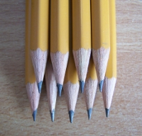 Photo of my graphite pencils 'Koh-I-Noor'
