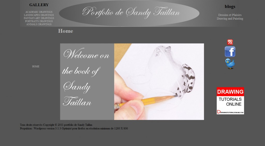 picture of the Sandy Taillan's portfolio
